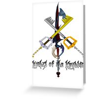 Knights of the Keyblade Greeting Card