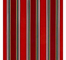 Pattern, Geometric Tribal, Wide Bold Vertical Stripes Photographic Print