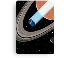 Tardis in space Canvas Print