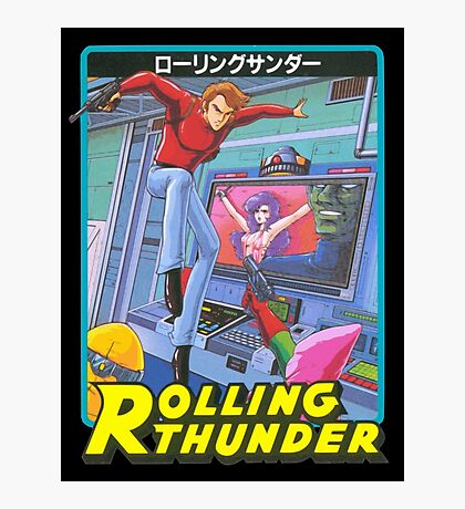 Rolling Thunder Photographic Print