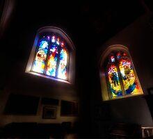 The Crusaders Windows by Nigel Bangert
