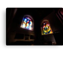 The Crusaders Windows Canvas Print