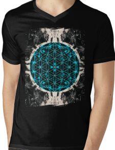 Flower of Life 4/16b Mens V-Neck T-Shirt