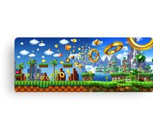 BEST - Sonic The Hedgehog 25th Anniversary - CHEAP Canvas Print