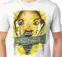 Light Bulb people are angry Unisex T-Shirt