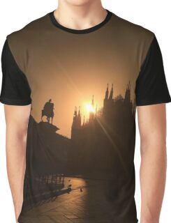 Dome of Milan (Italy) Graphic T-Shirt