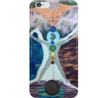 The Tree of Life and the Universal Man iPhone Case/Skin