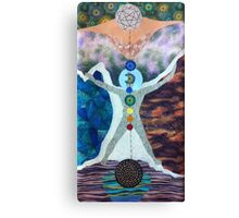 The Tree of Life and the Universal Man Canvas Print