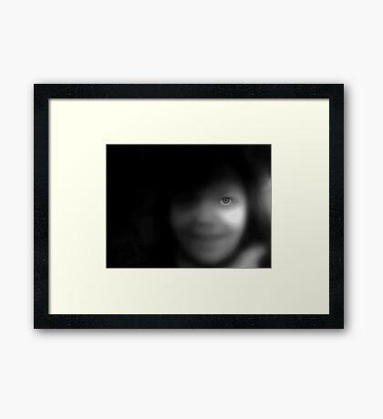 Creepy Jean Framed Print