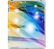 Rainbow Wave iPad Case/Skin