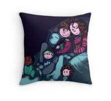 Sleepy Larents - For Barb Throw Pillow