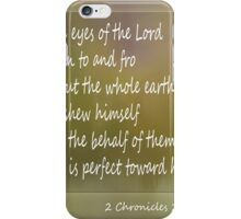 God Goes Before You iPhone Case/Skin