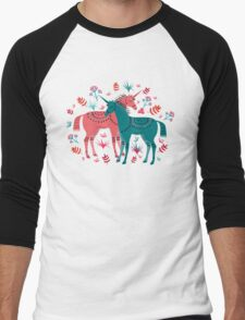Unicorn Land Men's Baseball ¾ T-Shirt