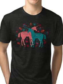 Unicorn Land Tri-blend T-Shirt