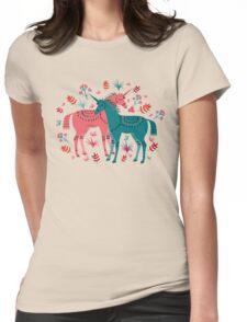Unicorn Land Womens Fitted T-Shirt