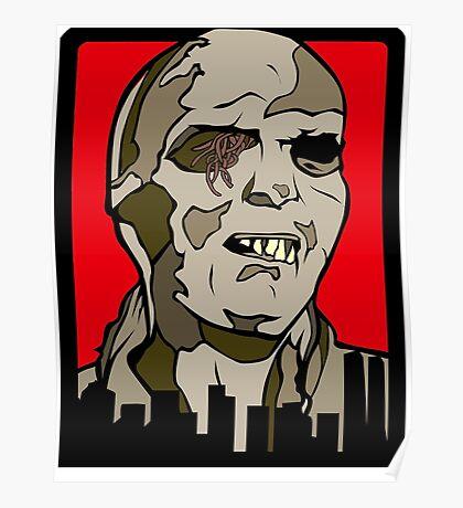 Classic Fulci Zombie - Lucio Fulci Poster