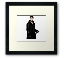 Captain Hook: Killian Jones Framed Print