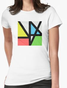 New order logo Womens Fitted T-Shirt
