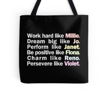 Admirable Characteristics of Sutton Foster Characters | Black Tote Bag