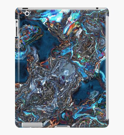 Abstract Waves of Color iPad Case/Skin