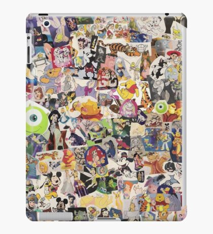 Disney Collage Design iPad Case/Skin