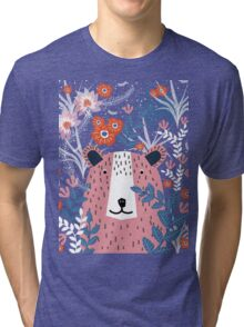 Bear Garden Tri-blend T-Shirt