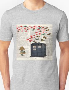 alice tardis police box T-Shirt
