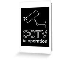CCTV Greeting Card
