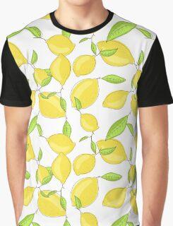 Lemon citrus pattern Graphic T-Shirt