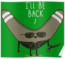 He will be back Poster