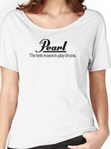 Pearl Drums Logo Women's Relaxed Fit T-Shirt