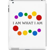 I AM WHAT I AM iPad Case/Skin