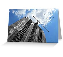 We Build Castles in the Sky Greeting Card