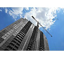 We Build Castles in the Sky Photographic Print