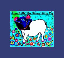 AnnaBelle The Sassy Little Pig Womens Fitted T-Shirt