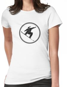 Womens Snowboarding Womens Fitted T-Shirt