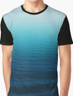 Deep Blue Graphic T-Shirt
