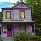 Quirky Purple House by Cynthia48