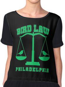 bird law philadelphia Chiffon Top