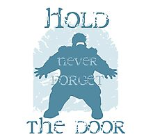 Hold the door Photographic Print