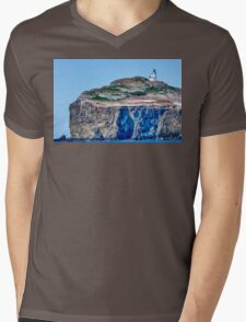 The Channel Islands Mens V-Neck T-Shirt