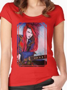 Red Spider - Full Portrait Women's Fitted Scoop T-Shirt