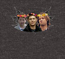 Sam, Dean and Castiel - The Baes Unisex T-Shirt