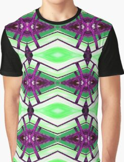 Coloured Diamonds Graphic T-Shirt