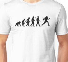 Evolution of Man and Football Unisex T-Shirt