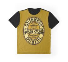 Guinness Extra Stout Dublin Ireland Graphic T-Shirt