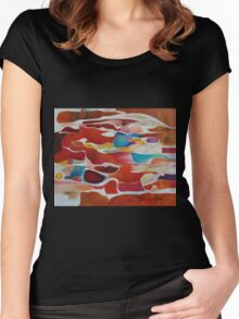 Sand Pebbles Women's Fitted Scoop T-Shirt