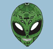 Alien Sugar Skull One Piece - Short Sleeve
