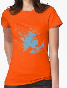 Pokemon Moon Logo - Spray Womens Fitted T-Shirt
