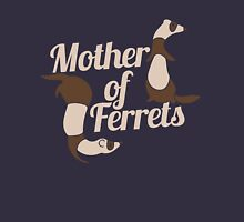 Mother of Ferrets Womens Fitted T-Shirt